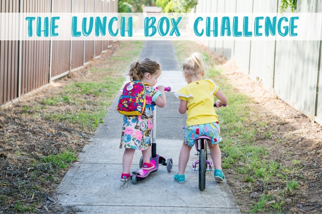 The lunch box challenge