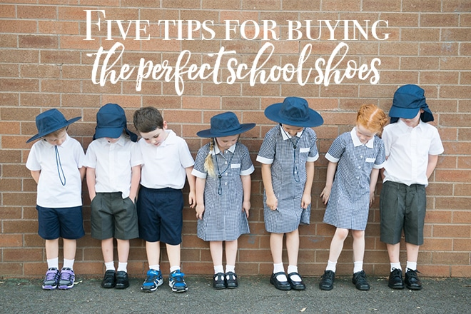 Five tips for buying the perfect school shoes