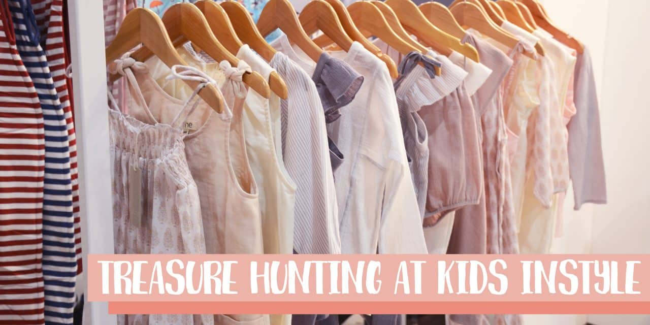 Treasure hunting at Kids Instyle