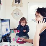 The reality of working from home with kids