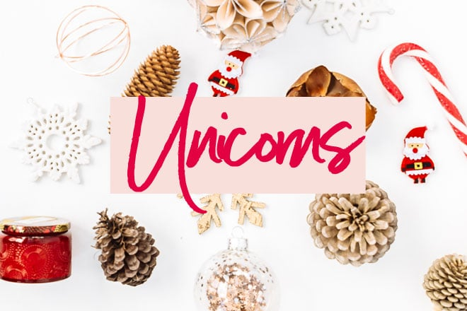 2017 Christmas gift guide – unicorn gifts