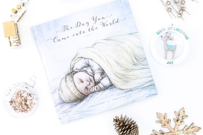 Christmas gift guide baby book