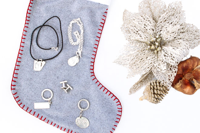 Personalised jewellery gifts for Christmas