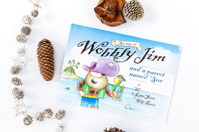 Christmas gift guide Wobbly Jim by Kate Toon