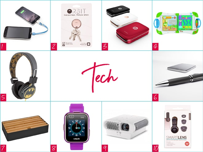 Gadget and tech gifts Christmas 2017
