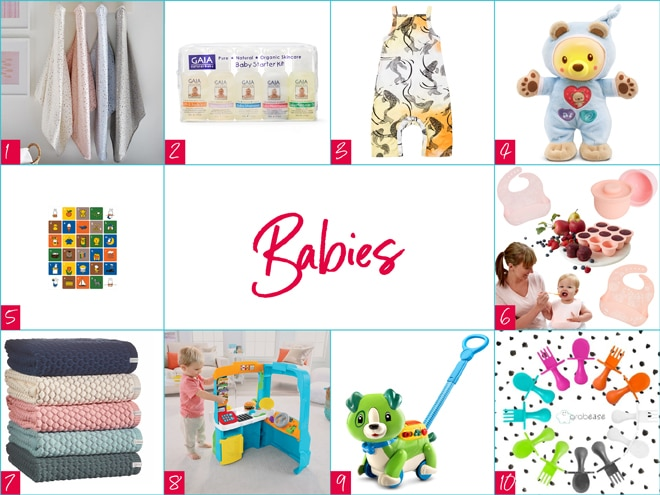 Gifts for babies Christmas 2017