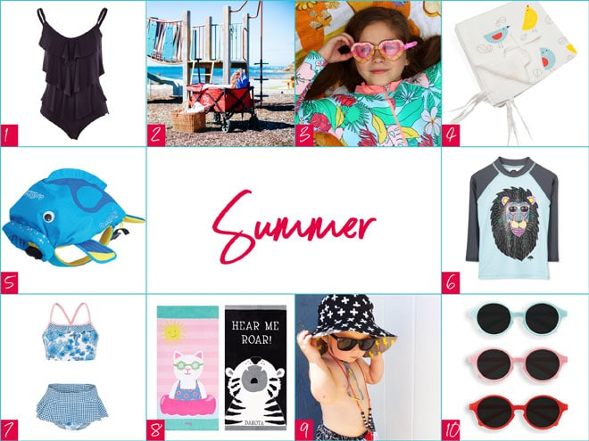 Summer beach Christmas gift ideas