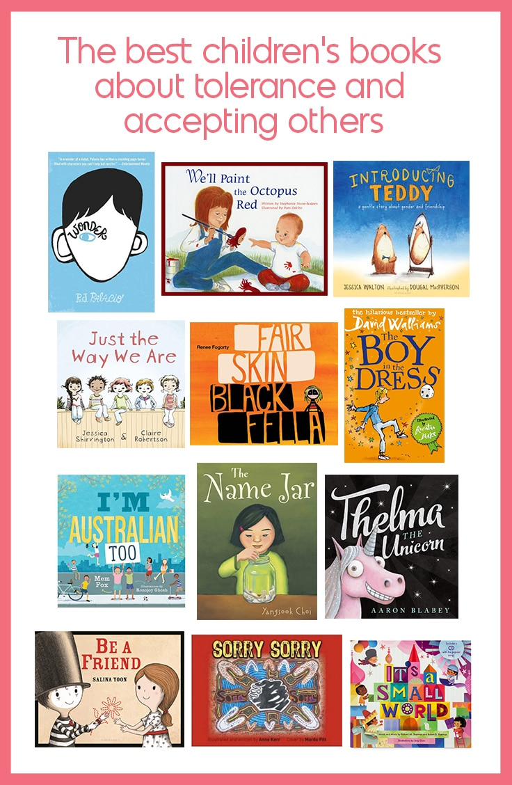books about tolerance, diversity and accepting others