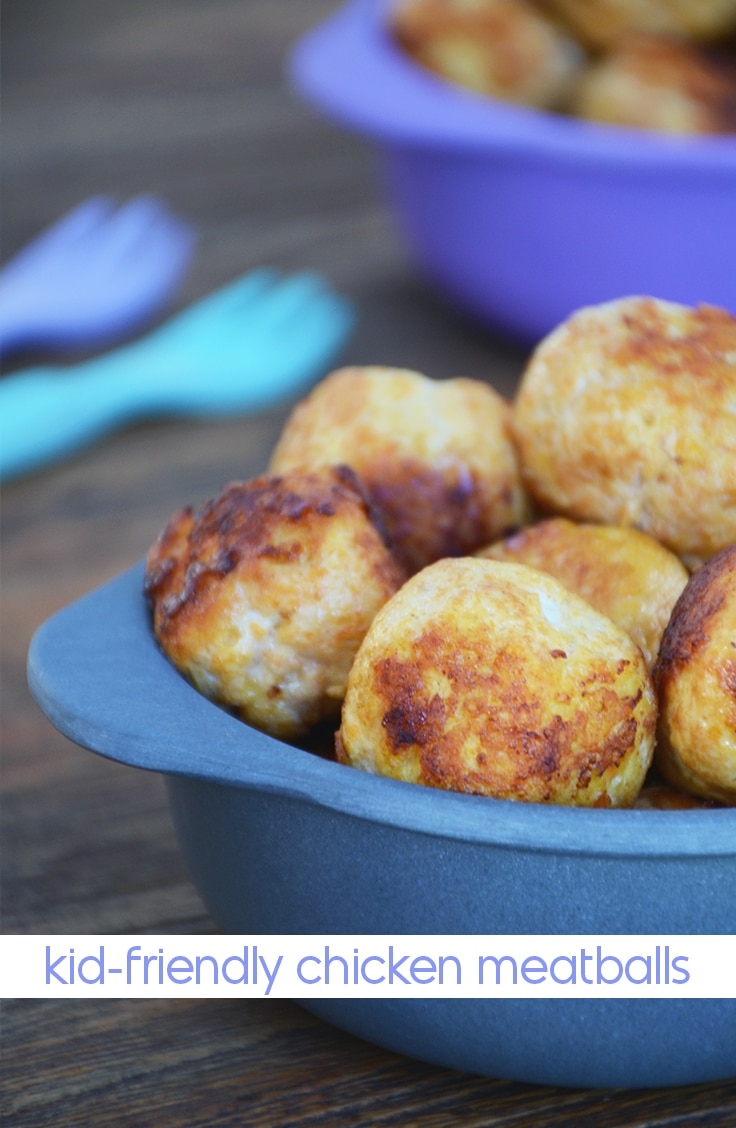 kid-friendly chicken meatballs recipe