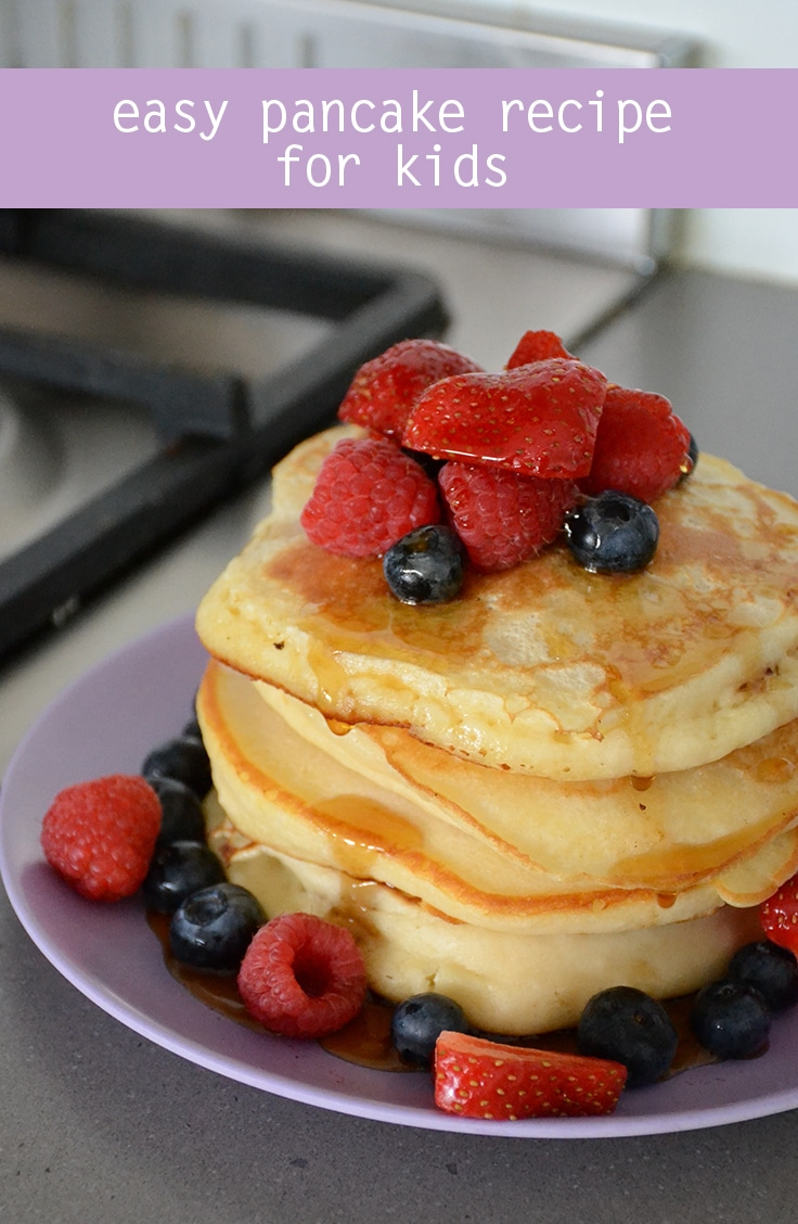 fluffy pancakes from scratch