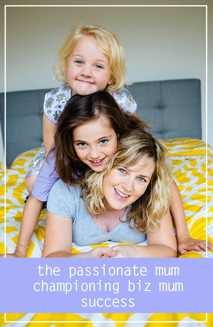 the passionate mum championing biz mum success