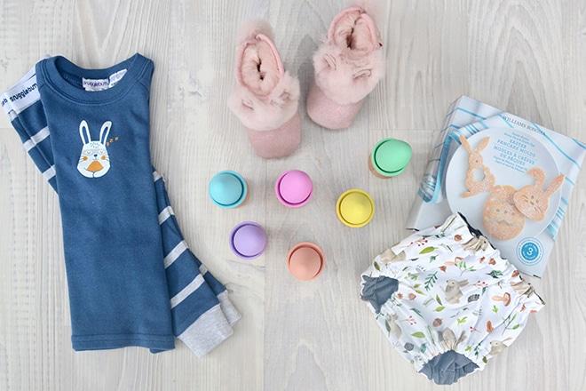 Easter pyjamas and bunny gifts for kids