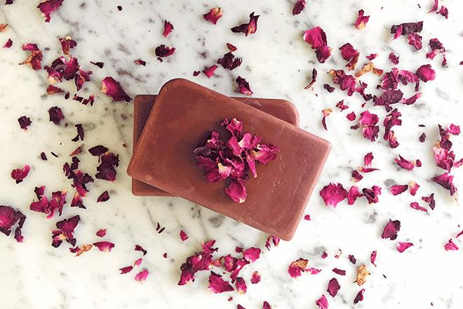 Rose & Cocoa moisturising lotion bars