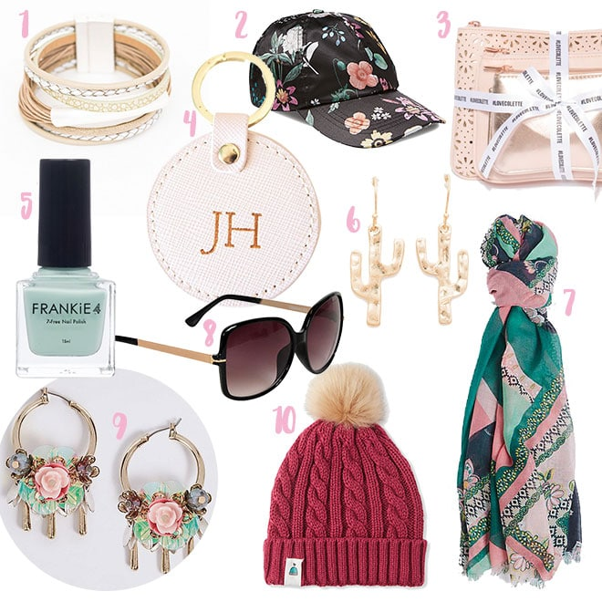 Mother's Day gifts under $30 - jewellery and accessories