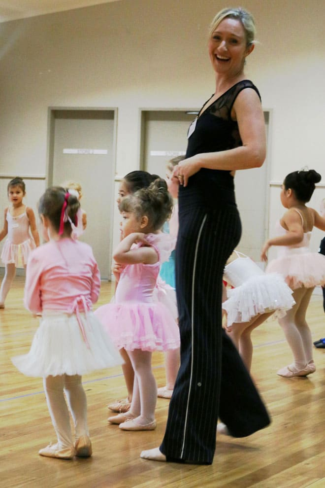 Rebecca Kidner Tiny Toes Ballet interview