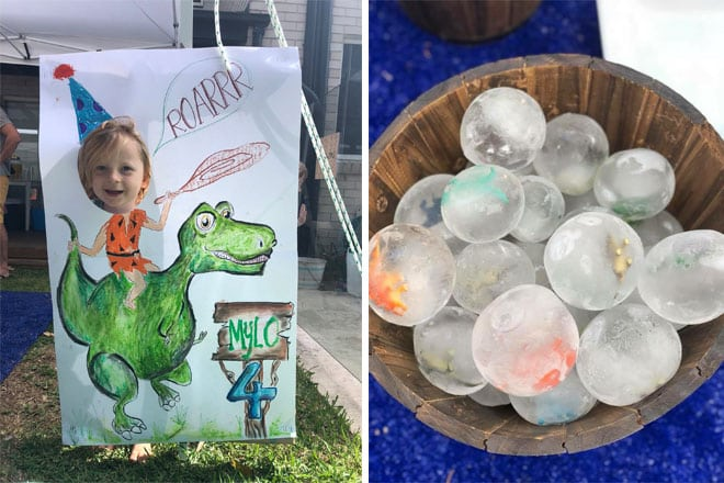 4th birthday dinosaur party activities