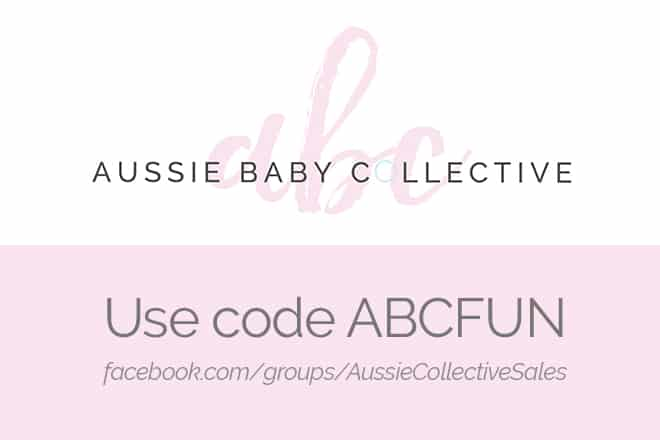 Join the Aussie Baby Collective sale on now
