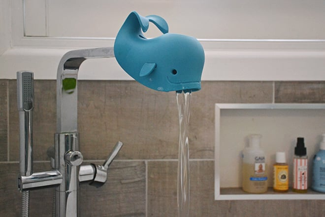 Baby bath spout cover