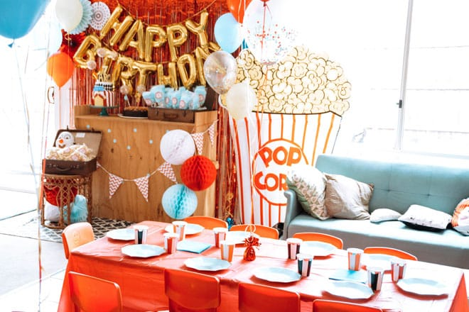 Archie's 7th birthday – a circus festival