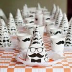 Elliott's 1st birthday – little man hipster party