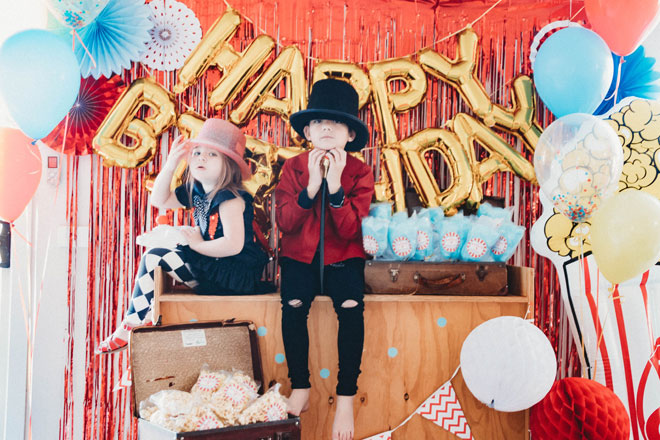 kids circus party