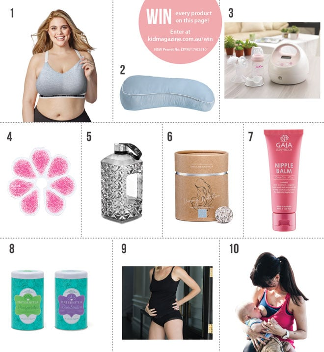 The 10 best breastfeeding support products