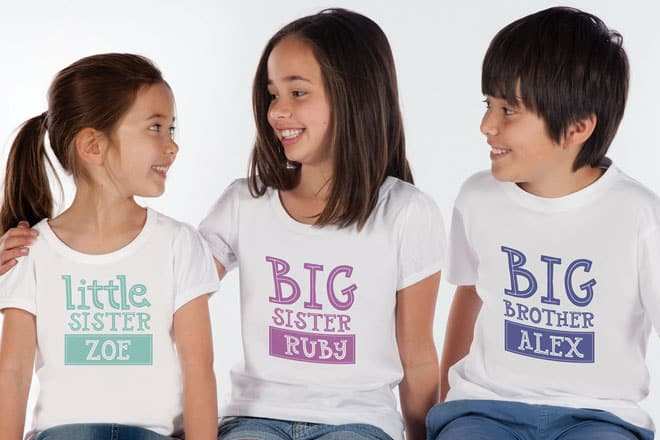 WIN a new sibling prize pack