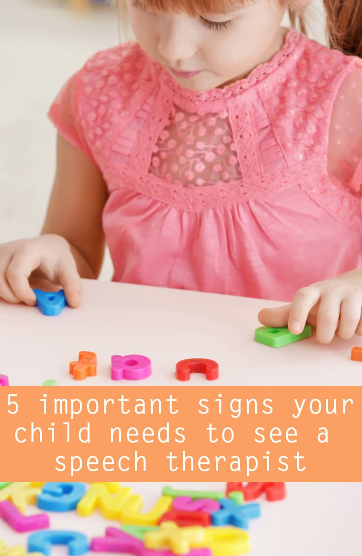 signs your child needs speech therapy