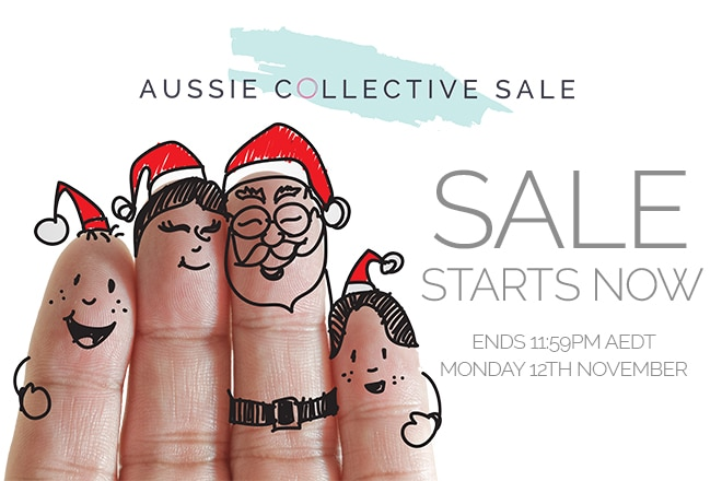 The Aussie Collective Sale Christmas Event is LIVE
