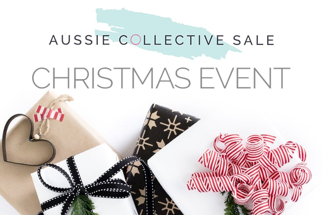 The Aussie Collective Sales Christmas event is coming