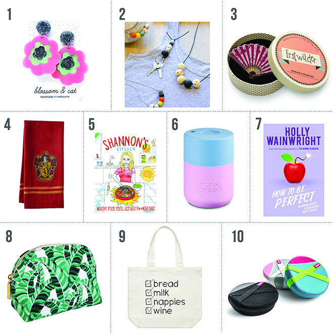 10 gift ideas for women, mum, grandma