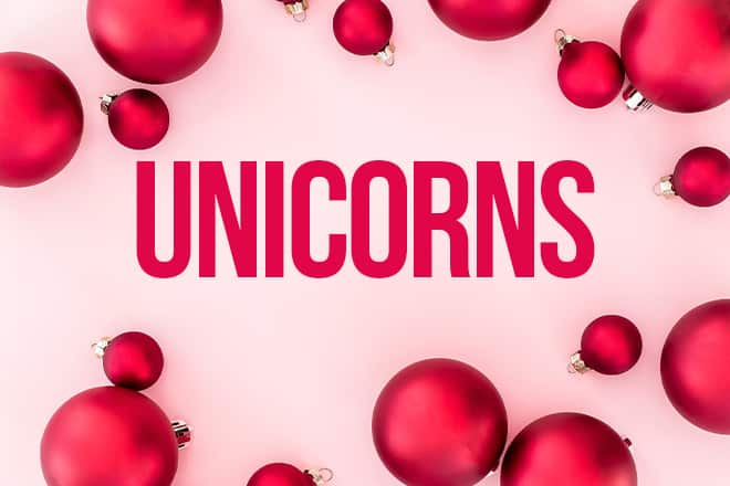Unicorn gift ideas