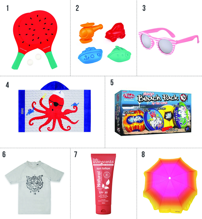 fun products for a day at the beach