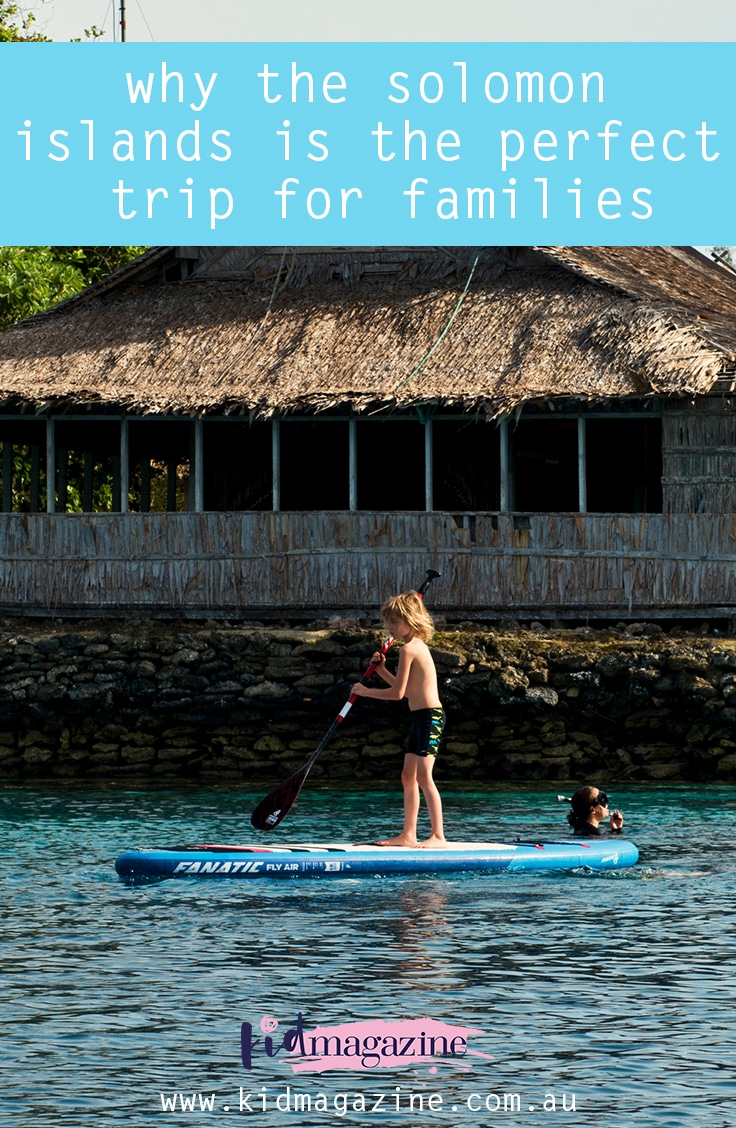 Why the Solomon Islands is the perfect trip for families
