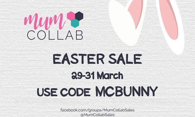 Mum Collab Easter Collective Sale ON NOW – hop to it!