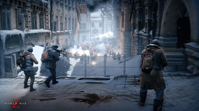World War Z zombie shooter game