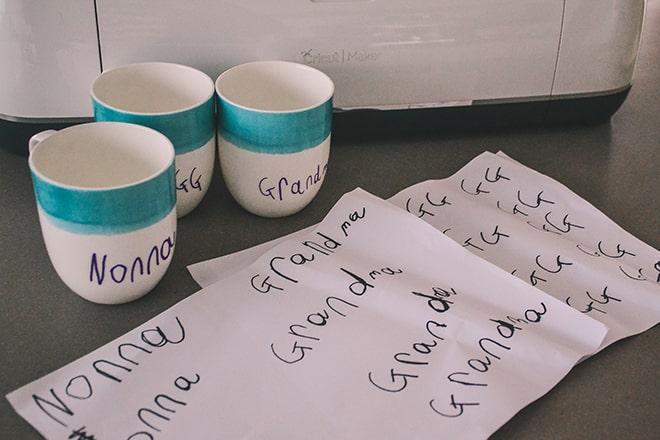 Cricut Maker Uploading Handwriting