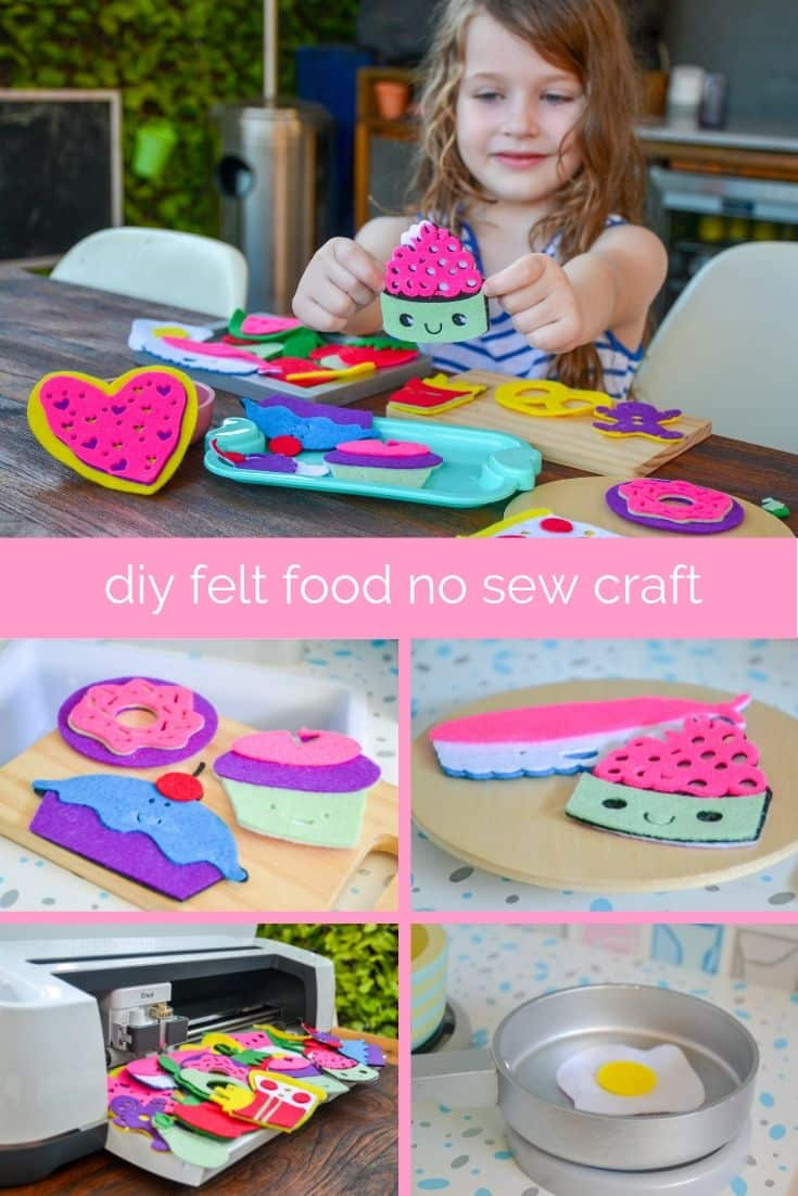 DIY Felt Food Toys Project