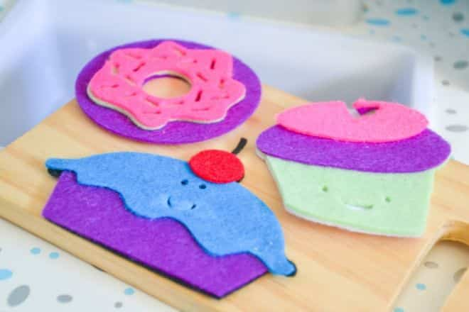 Felt Food DIY Cakes and Donut