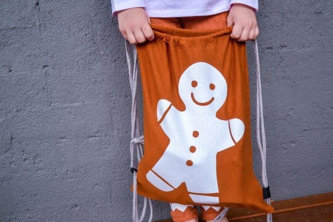 Gingerbread Man Bag