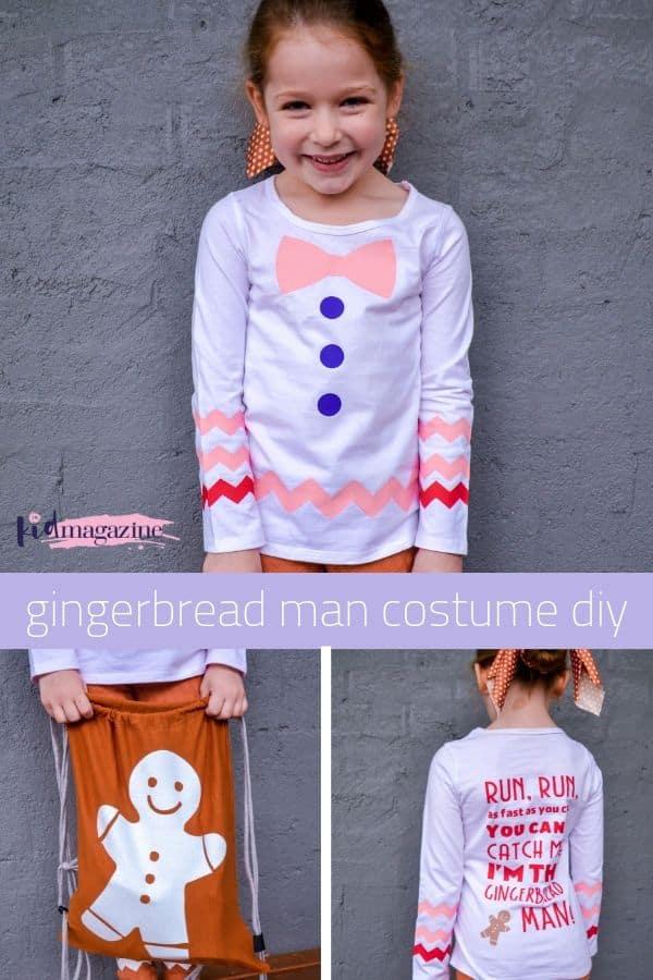 Gingerbread Man Costume DIY