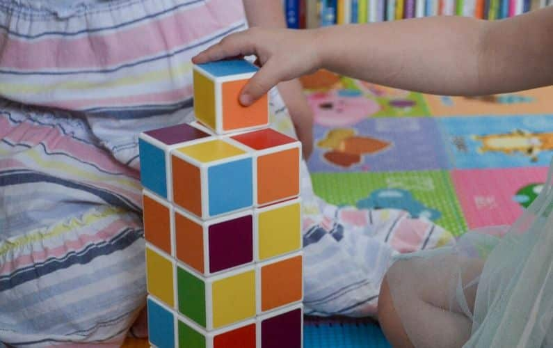 Geomag Magicube magnetic blocks review for toddlers and up